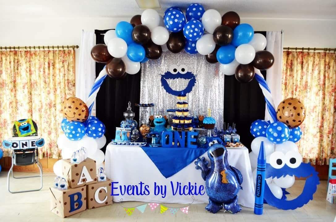 Cookie Monster Birthday Cookie Monster Birthday Party Cookie Monster Party Cookie Monster Birthday
