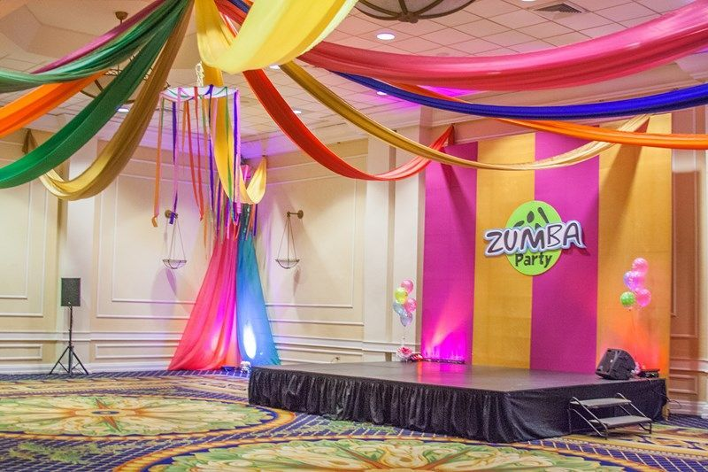 Zumba Party Decoration Zumba Party Ideas Pinterest