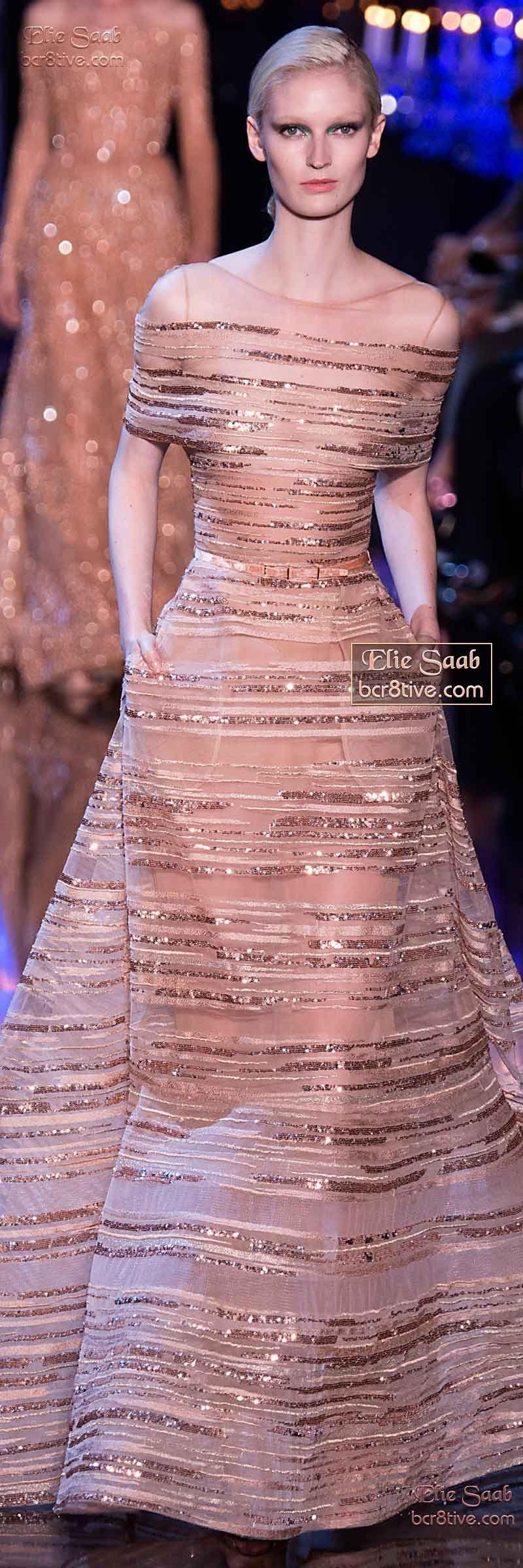 Elie Saab Fall Winter 2014-15 Couture | Vestido formal, Vestidos de ...