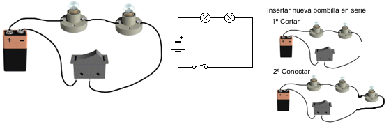La Tecnologia De 2º Circuitos Electricos Serie Paralelo Y Mixto Circuito En Serie Circuito Electrico Circuitos