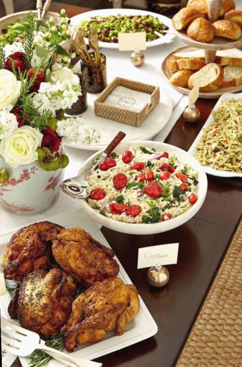 Christmas Party Table Buffet Snow Christmaspictures Winterpictures In 2020 Buffet Set Up Christmas Dinner Buffet