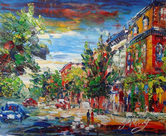 Pen King Main Street Cold Spring NY by PENKINGCITY on Etsy- Somehow this  artist from