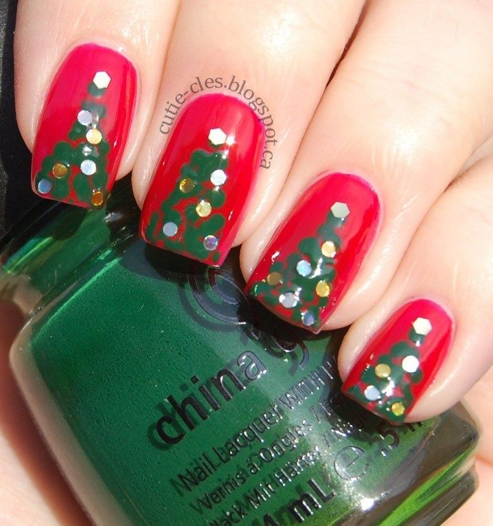 Very Cute Nail Designs for Christmas Party - Reny styles | Nails ...