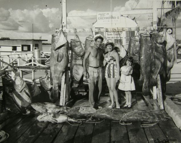 Florida Life in 1800s | What a catch: Big game goliath grouper fish landed off Key West ...