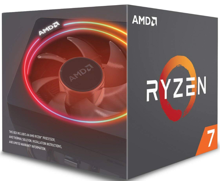 Amd Ryzen 7 2700x Processor With Wraith Prism Led Cooler 8 Am4 Yd270xbgafbox Amd Data Storage Processor