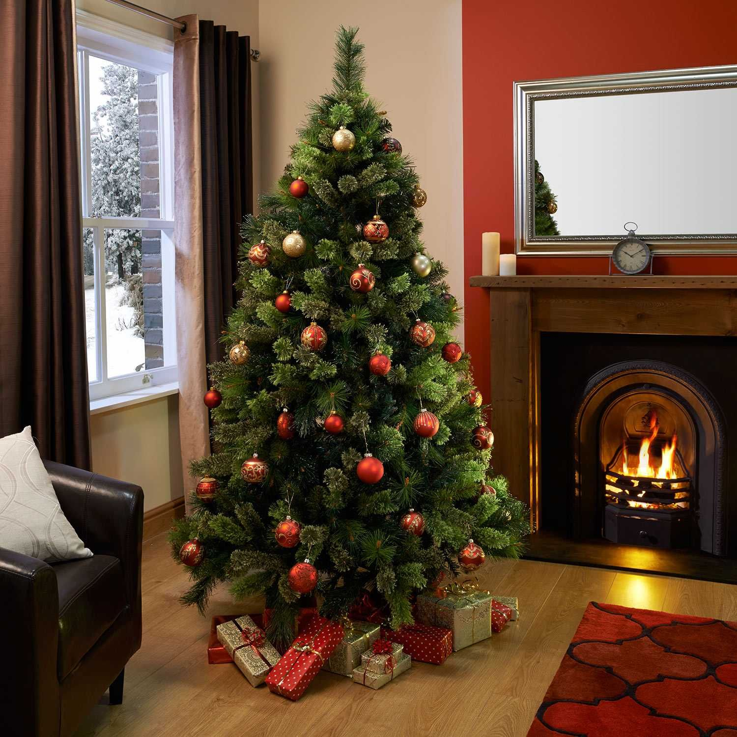 6.5ft Kensington Tree with Droplets at The Range | christmas tree ...