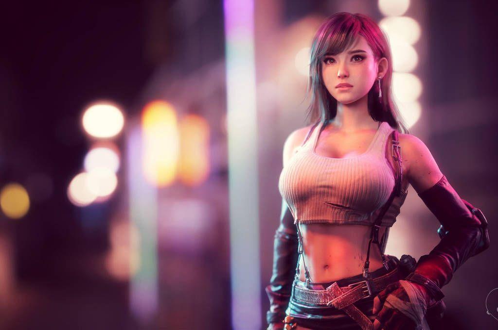 Tifa Lockhart Remake Final Fantasy Vii By Ryuganstudios