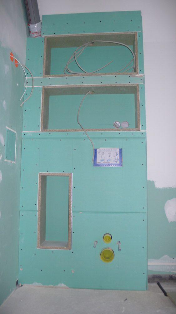 Sistemas Do Drywall No Banheiro Bathroom Sachfenster No