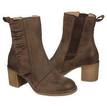 Kickers Kifrange Boots (Dark Brown Leather) - Women's Boots - 39.0 M