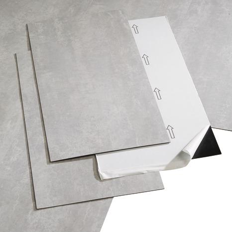 Dalle Pvc Adhesive Gris Clair L 60 X L 30 5 Cm Brico Depot En 2020 Dalle Pvc Adhesive Dalle Pvc Dalle Adhesive