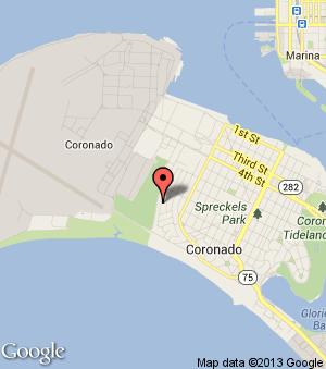 Google Map   Coronado Island California   Pinterest   Coronado ...