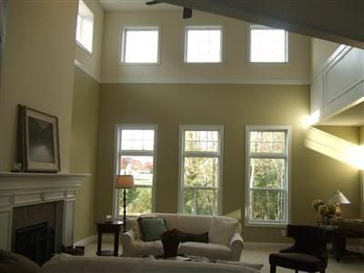 Trim work to break up tall walls and define space | For the Home ...