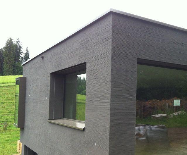 k5 eps aquaroyal mineralisches system modellierputz mineral besenstrich grob horizontal. Black Bedroom Furniture Sets. Home Design Ideas