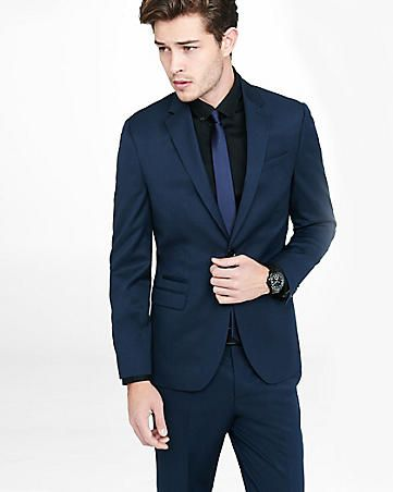 navy wool blend photographer suit jacket | Dapper | Pinterest ...