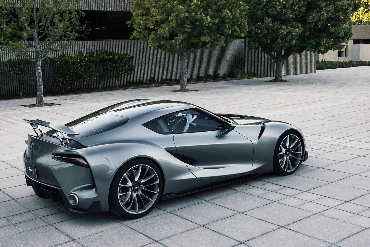 Toyota Makes Another Beautiful Gran Turismo Supercar New Sports Cars New Toyota Supra Sports Cars Luxury
