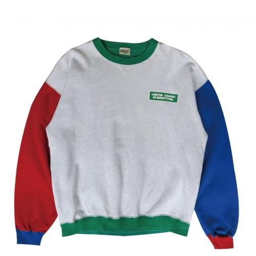 VINTAGE BENETTON FORMULA 1 CREW NECK SWEATER - RIGHTSTUFF WebStore ... ec9cdee5ec3