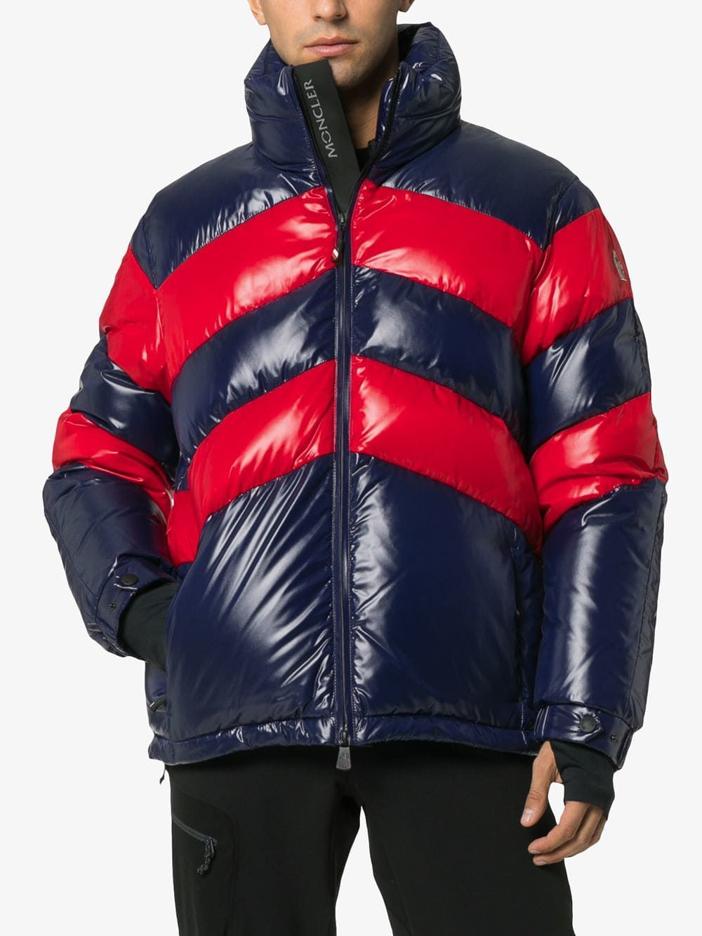 411591b0ae2 Striped padded hooded jacket | High Performance | Jackets, Hooded ...