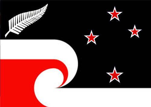 An alternative design for the NZ flag  Design / Timothy Walker | New