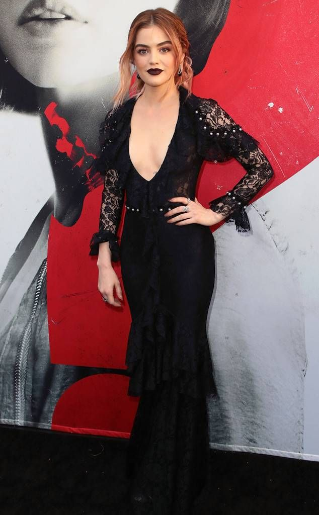 Gothic & Classy: Fashion Police | Celebrities | Lucy hale ...