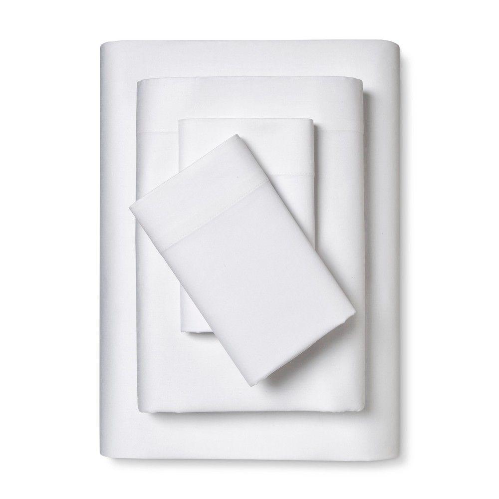 100 cotton sheet set full white room essentials