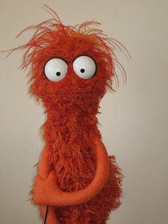 Jarrod Boutcher Puppets Crazy Orange Monster Puppets Custom Puppets Puppet Crafts