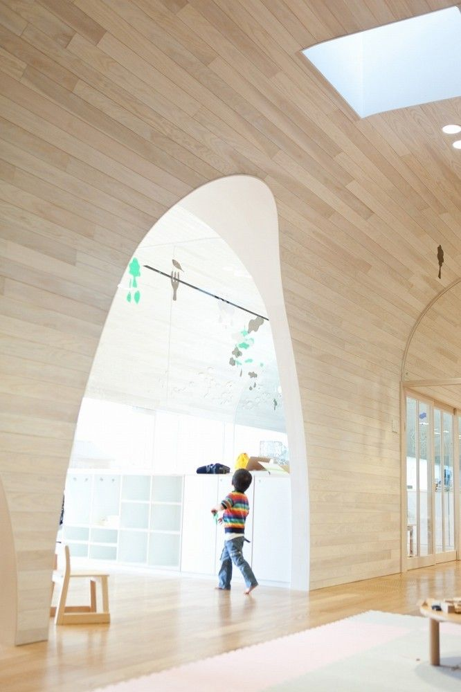 Gallery of leimond shonaka nursery school archivision for Edificios escolares arquitectura