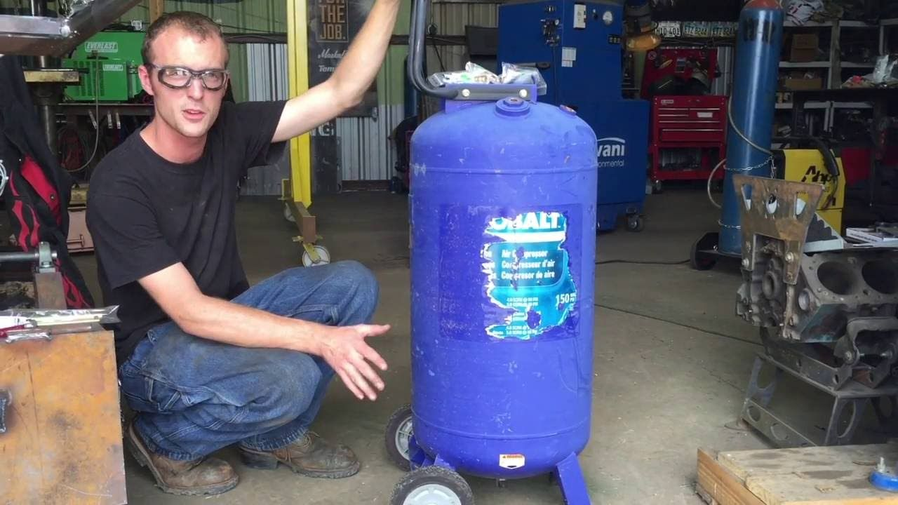 AddOn Air Compressor Size and Capacity! Auxiliary Air