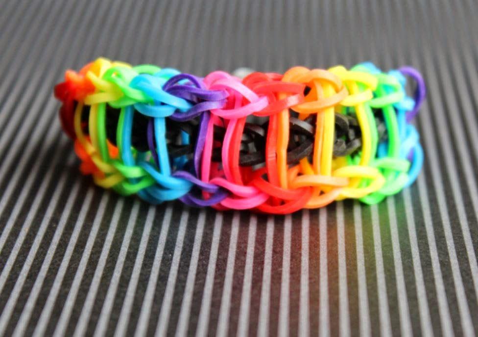 Loom-Armband - Leitertechnik
