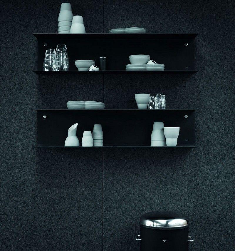 Schwarze Möbel fürs Interieur im Industrie-Stil – das Fertighaus ...