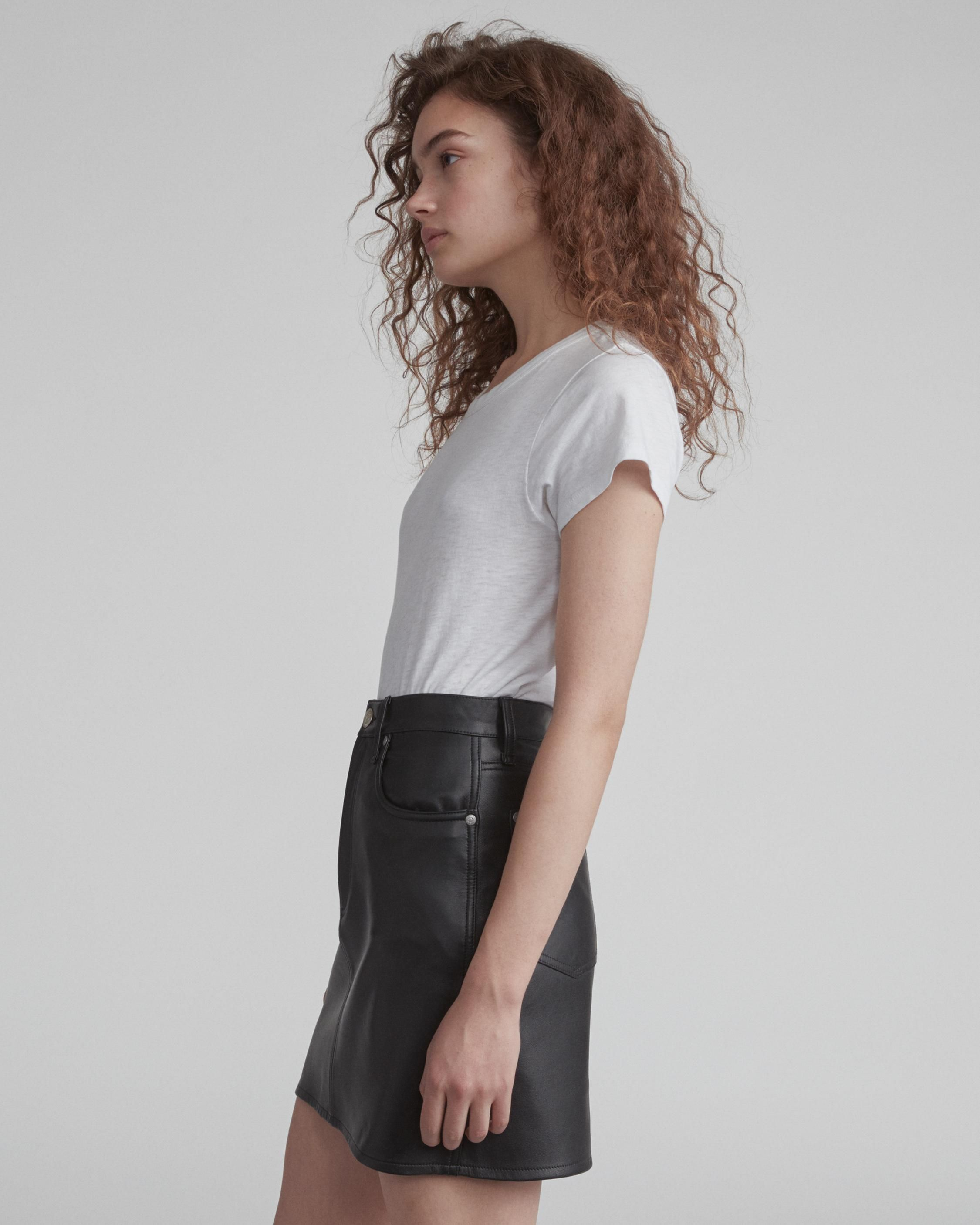 fbe15a3a5 Moss Leather Skirt | Women Dresses & Skirts | rag & bone | Future ...