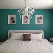 47 The Definitive Guide To Gray Bedroom Ideas With Pop Of Color Turquoise Accent Walls 111 #graybedroomwithpopofcolor