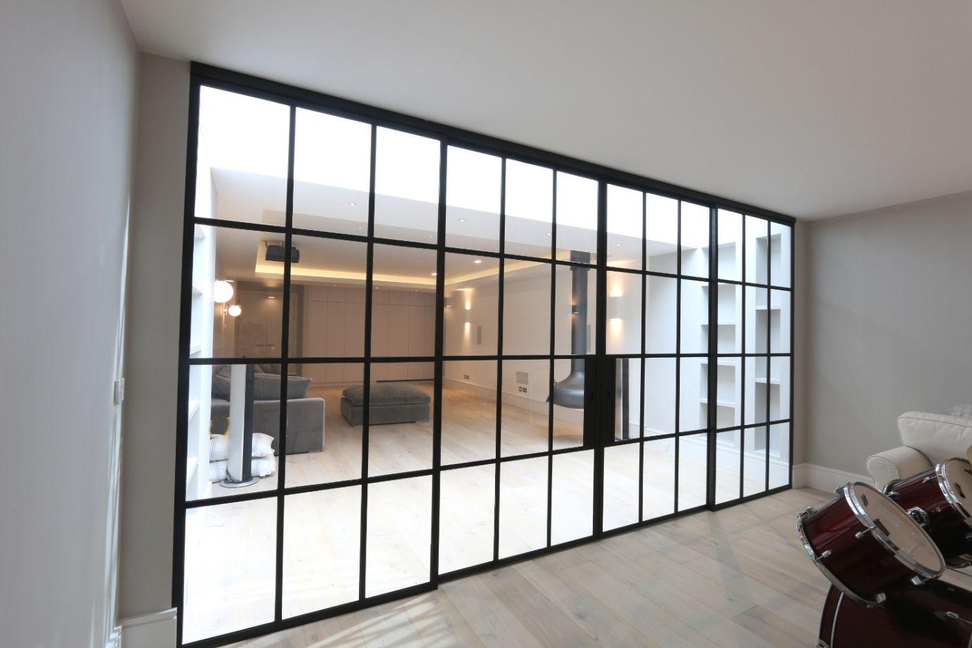 Quarrendon Street | Projects | IQ Glass Using Aluminium Bi Folding Doors  From Hedgehog Aluminium Systems