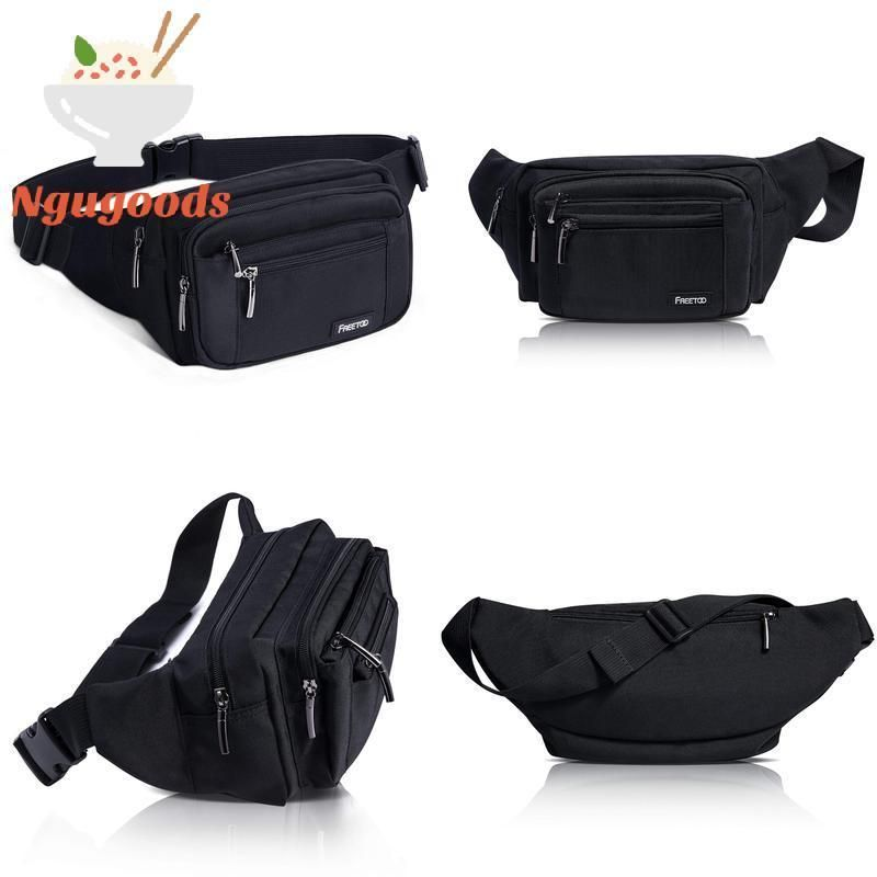 2bfbb11f6b6 Freetoo Waist Pack Bag Fanny Pack For MenWomen Hip Bum Bag With ...