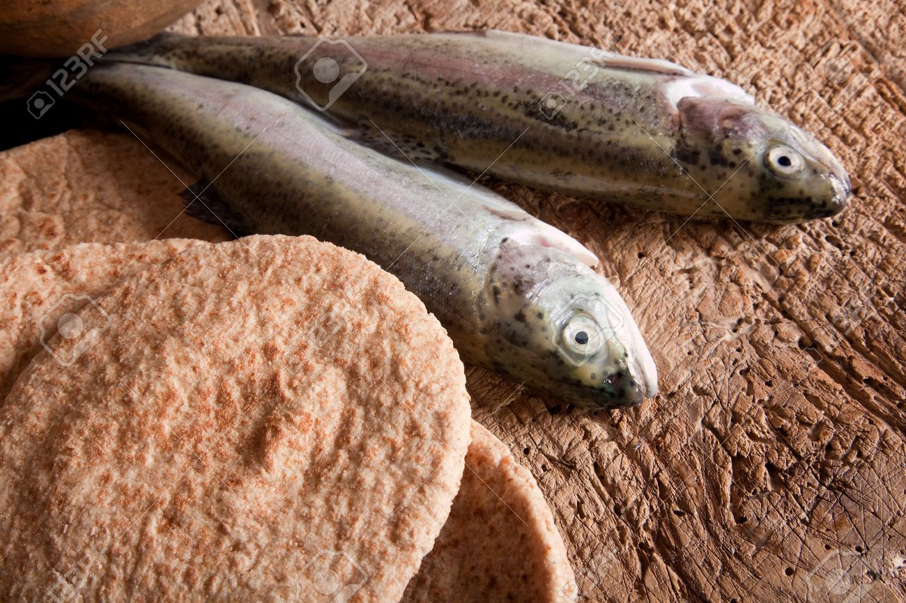 Miracle of 5 Loaves and 2 Fishes - Google Search | 5 Roti 2 Ikan ...