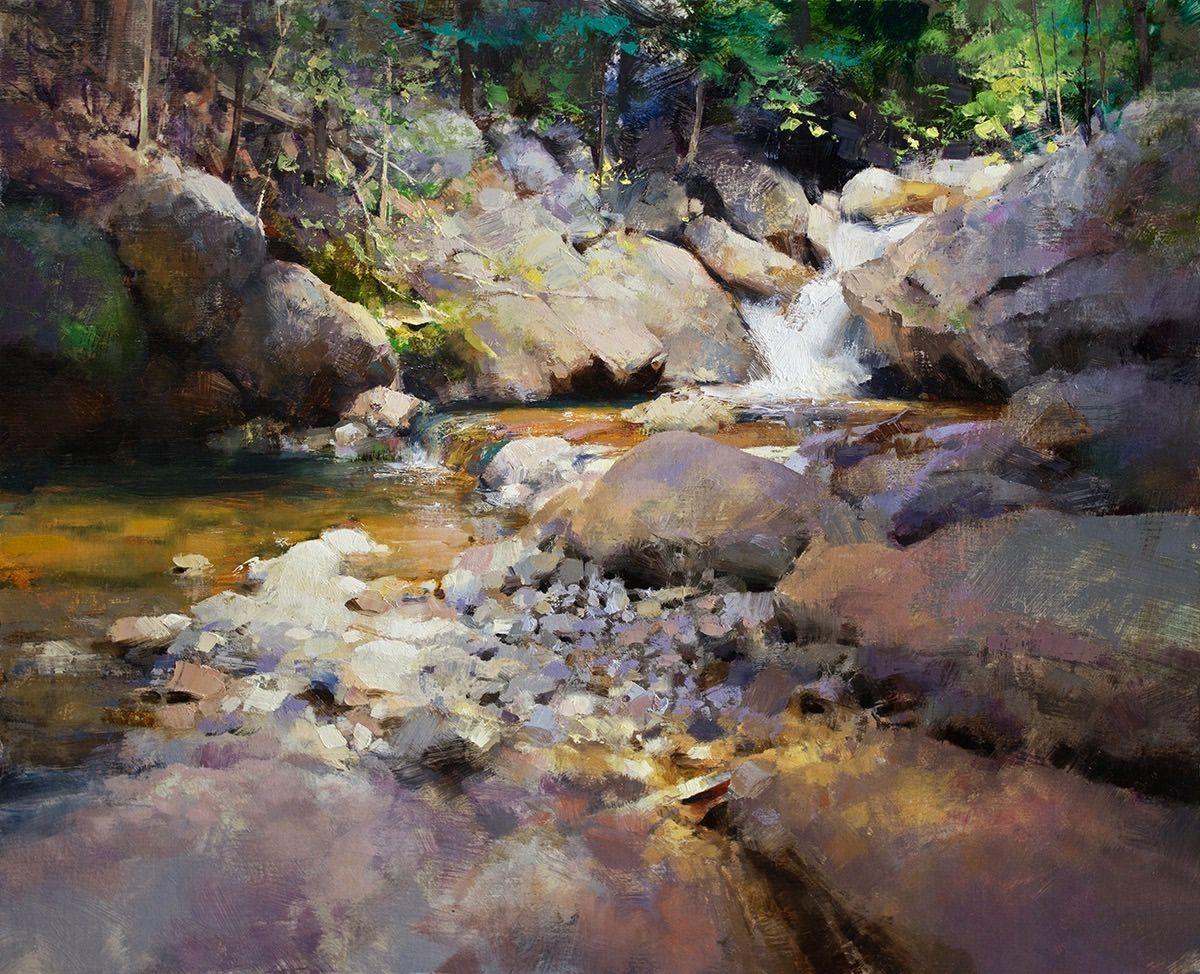 Mark Boedges Landscape Art Watercolor
