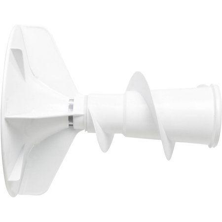 Whirlpool 22001821 Agitator, White
