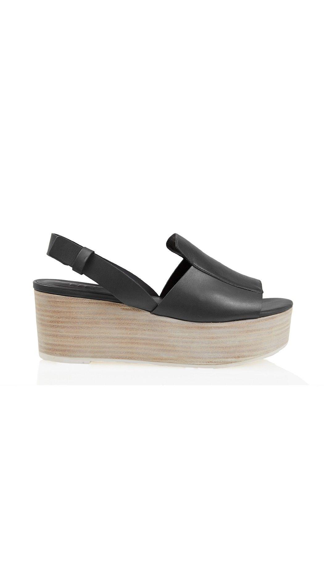 afa1ad1a99c Tibi - Alex Platform Sandals Black Platform Sandals