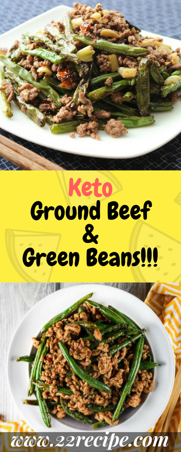 Keto Ground Beef Green Beans Ground Beef Keto Recipes Keto Beef Recipes Keto Fast Food
