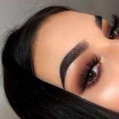 Nebliges und edles Augen Make-up 25 – Augen Make-Up – #Augen #edles #makeup #N… – Simple eye makeup