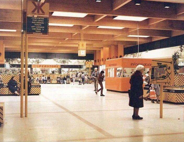 Kingdom Centre 1980s Vintage Photographs Old Photos Glenrothes