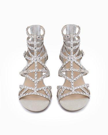 Embellished Gladiator Sandals Sparkly Sandals Studded Gladiator Sandals Wedding Shoes