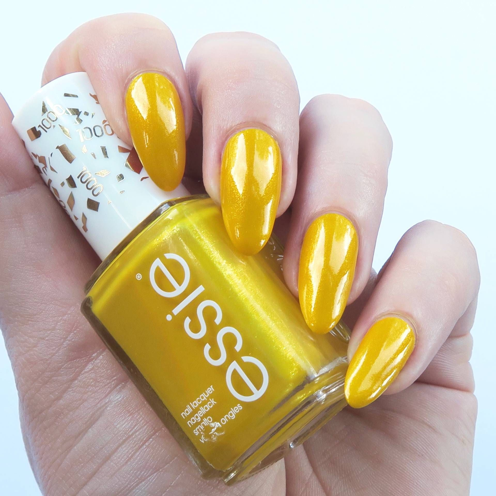 Essie Gel Couture Review | Essie gel, Yellow nails and Manicure