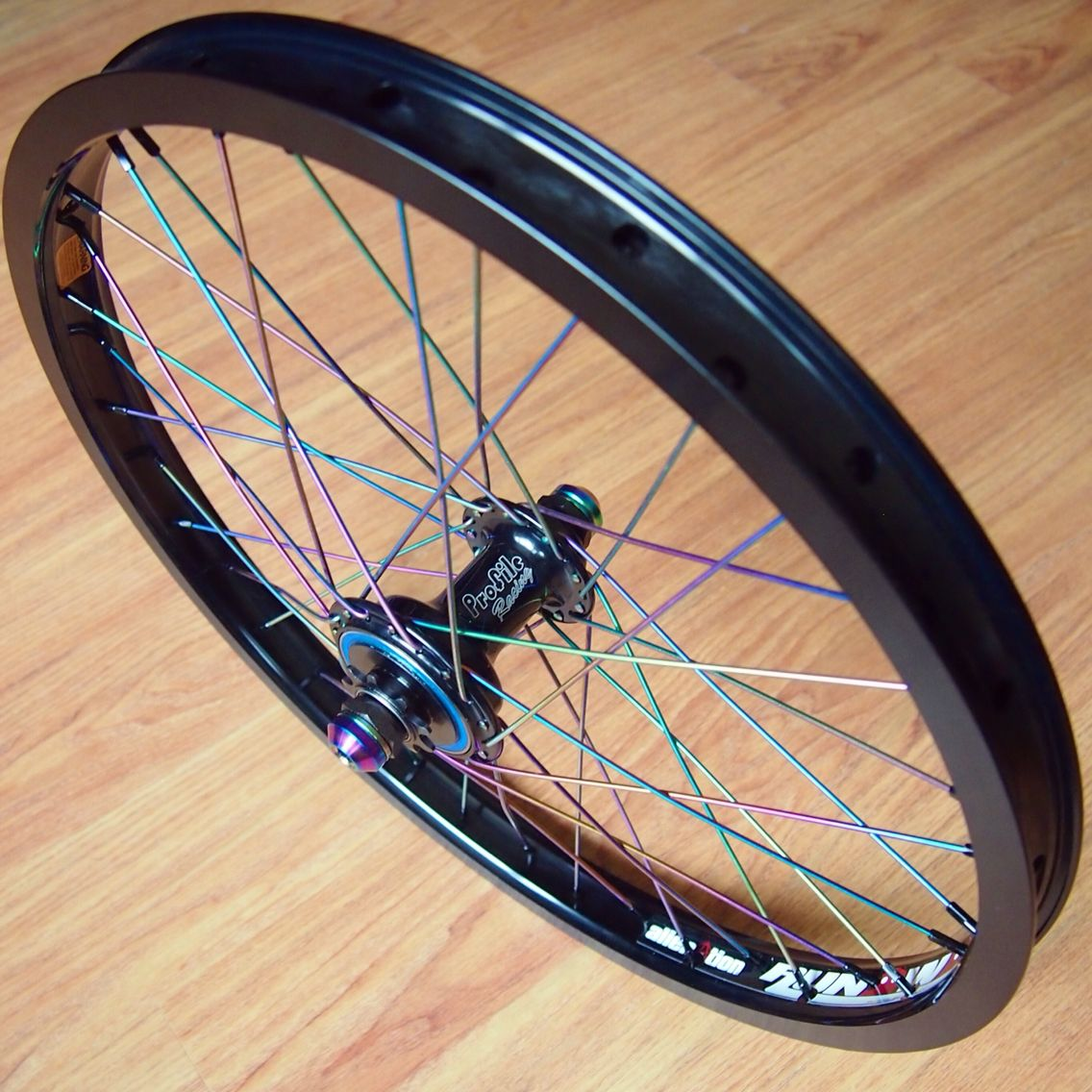 Another stunning wheel build done for team rider @callumargent using