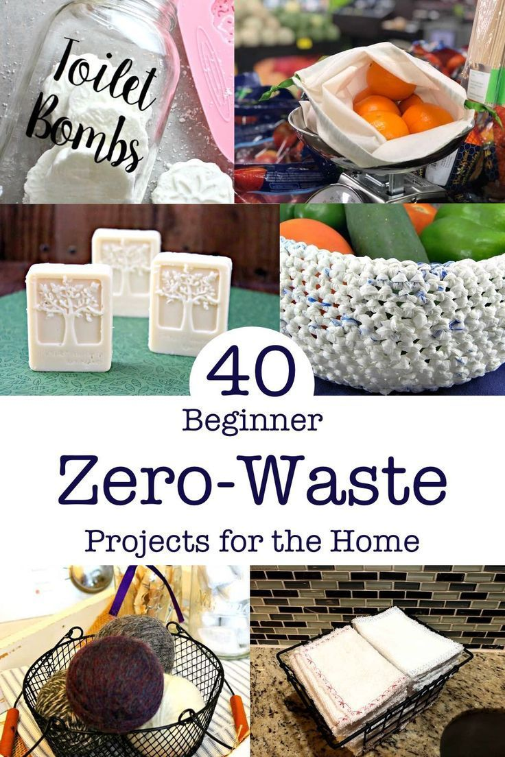 Photo of 40+ easy zero waste projects at home – UPCYCLING IDEAS