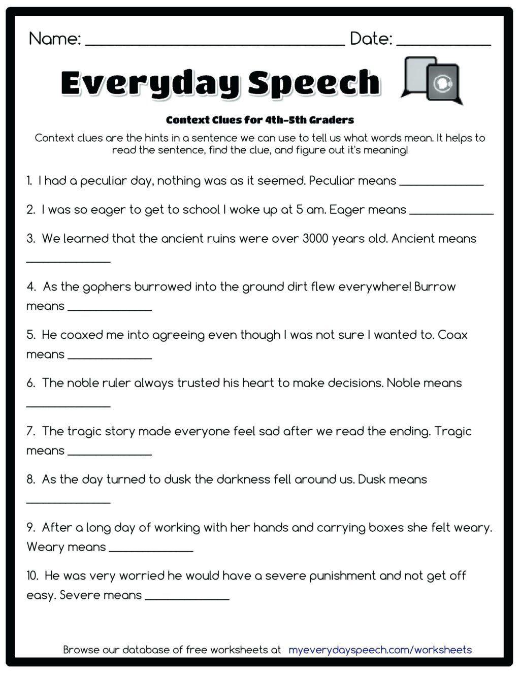 4th Grade Paragraph Writing Worksheets Worksheet Free