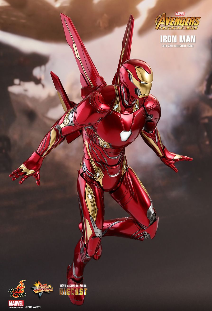 avengers: infinity wars - ironman mark 50hot toys. | referenze e