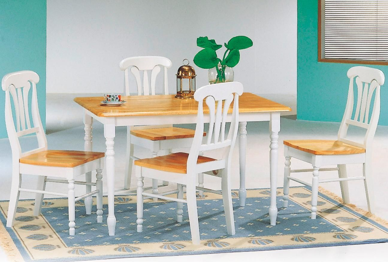 Farmhouse rectangular dining table chairs furniture go