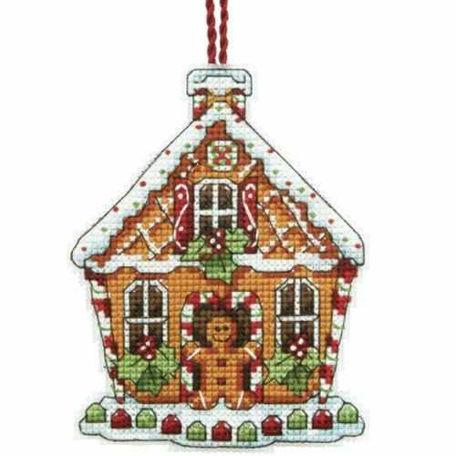 Gingerbread House Counted Cross Stitch Kit Dimensions Susan Winget Cross Stitch Christmas Ornaments Holiday Cross Stitch Cross Stitch Patterns Christmas