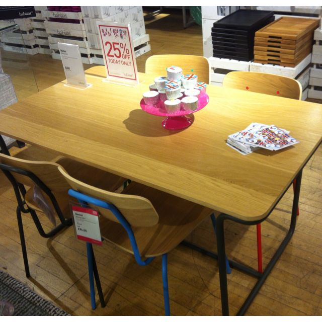 Habitat Hester Table Dining ChairsDining