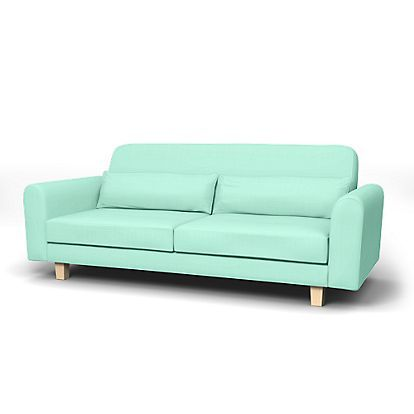 NO WAY!!!  This company makes custom covers for your favorite IKEA pieces.   Nikkala 3 Seater sofa cover - Sofa Covers | Bemz